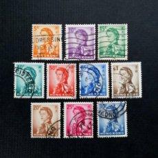 Sellos: SELLOS DE HONG KONG 1962, ISABEL II. Lote 213810792