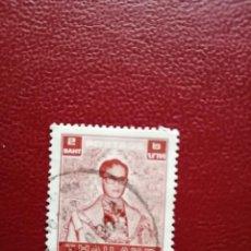 Sellos: TAILANDIA - VALOR FACIAL 2 BAHT - REY BHUMIBOL ADULYADES. Lote 221342592