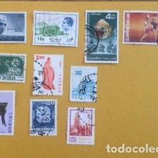 Sellos: 10 SELLOS ASIA, USADOS AÑOS 70/80, TAHILANDIA, INDIA,VIETNAM,REPUBLICA DE CHINA, IRAN. Lote 234846670