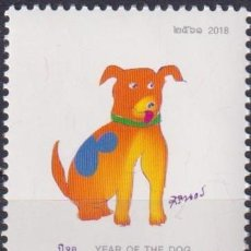 Sellos: ⚡ DISCOUNT THAILAND 2018 CHINESE NEW YEAR - YEAR OF THE DOG MNH - NEW YEAR. Lote 255634380