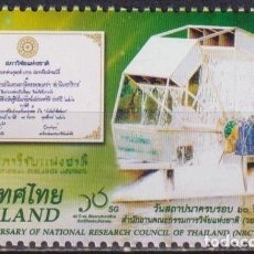 Sellos: ⚡ DISCOUNT THAILAND 2019 THE 60TH ANNIVERSARY OF THE NATIONAL RESEARCH COUNCIL MNH - ENERGET. Lote 255634445