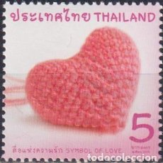 Sellos: ⚡ DISCOUNT THAILAND 2018 SYMBOL OF LOVE MNH -. Lote 260532200