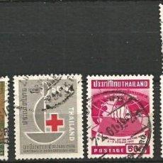 Selos: TAILANDIA - LOTE 8 SELLOS - USADOS. Lote 267688069