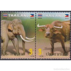 Sellos: ⚡ DISCOUNT THAILAND 2019 THE 80TH ANNIVERSARY OF DIPLOMATIC RELATIONS WITH THE PHILIPPINES MN. Lote 268836034