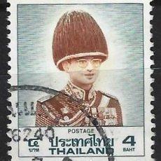 Timbres: TAILANDIA 1989 - REY BHUMIDOL ADULYADEJ - USADO. Lote 270614233