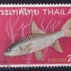 Sellos: LOTE 3 SELLOS DE THAILANDIA PECES (MATASELLADOS). Lote 278421143