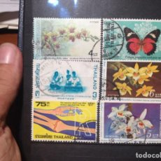 Sellos: SELLOS DE TAILANDIA. USADOS. YVERT Nº. Lote 284802153