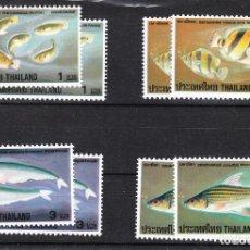 Sellos: 1978 TAILANDIA PECES SERIE COMPLETA X 2 **. Lote 286696033