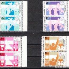 Sellos: 1978 THE 8TH ASIAN GAMES TAILANDIA SERIE COMPLETA POR PAREJAS **. Lote 286701588
