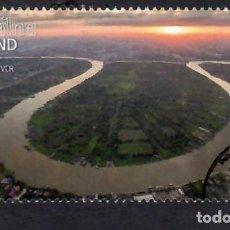 Francobolli: TAILANDIA (2017). RÍO CHAO PHRAYA. YVERT Nº 3405. USADO.. Lote 289626913