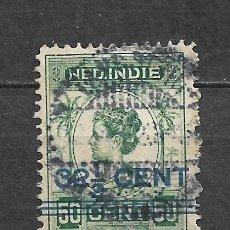 Sellos: HOLANDA INDIES 1922 USADO - 8/22. Lote 292540633