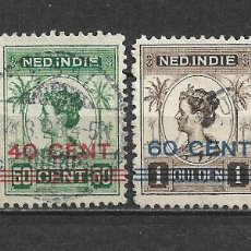 Sellos: HOLANDA INDIES 1922 SERIE COMPLETA USADO - 8/22. Lote 292540673