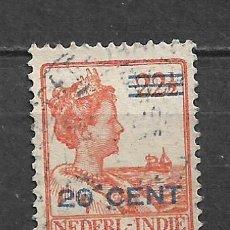Sellos: HOLANDA INDIES 1922 USADO - 8/22. Lote 292540848