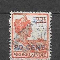 Sellos: HOLANDA INDIES 1922 USADO - 8/22. Lote 292540873