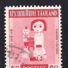Selos: TAILANDIA (1963). DÍA DE LA INFANCIA. YVERT Nº 401. USADO.. Lote 293843723