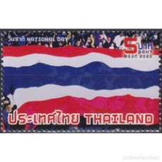 Sellos: ⚡ DISCOUNT THAILAND 2020 NATIONAL DAY MNH - FLAGS, HOLIDAYS. Lote 295964798