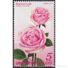 Sellos: ⚡ DISCOUNT THAILAND 2019 VALENTINE'S DAY MNH - FLOWERS, ROSES. Lote 297148573