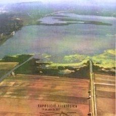 Sellos: 2007 TARJETA MÁXIMA ALBUFERA DE VALENCIA - EDICIÓN PRIVADA. Lote 6975016