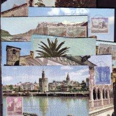 Sellos: ESPAÑA.- TARJETA MAXIMA Nº 1726/35 TURISMO ESPAÑOL . Lote 13958377