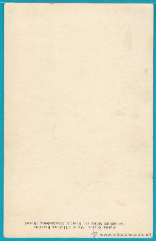 Sellos: TARJETA MAXIMA BELGICA CHARLES V, CIRCULADA EL AÑO 1954 - Foto 2 - 34404135