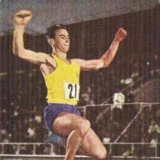 Sellos: JUEGOS OLÍMPICOS TOKIO, SALTO DE LONGITUD - PRIMER DÍA CIRCULACIÓN 1964, TARJETA MÁXIMA. Lote 205136831