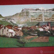Sellos: TORLA HUESCA: TURISMO 1966 - EDIFIL 1727 - TARJETA MAXIMA PRIMER DIA. Lote 40575809
