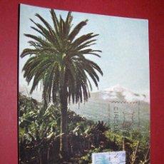 Sellos: EDIFIL 1731, VALLE OROTAVA Y TEIDE - TENERIFE - TARJETA MAXIMA DE PRIMER DIA DE 16-5-1966. Lote 40576186