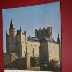 Timbres: ESPAÑA - EDIFIL 1546 - ALCAZAR DE SEGOVIA - TARJETA MAXIMA PRIMER DIA DE 8-1-1964. Lote 40609257