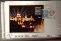 TARJETA 50 ANIVERSARIO DEL SELLO DE RECARGO AÑO 1979 PRIMER DIA MADRID VER FOTOS QUE NO TE FALTE (Sellos - España - Tarjetas Máximas )