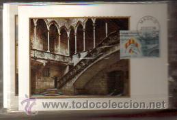 TARJETAS ESTATUTO DE AUTONOMIA CATALUÑA AÑO 1979 PRIMER DIA MADRID VER FOTOS QUE NO TE FALTE (Sellos - España - Tarjetas Máximas )