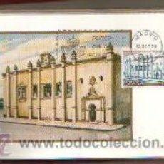 Sellos: TARJETAS AMERICA Y ESPAÑA MONUMENTOS COMPLETA 2 VALORES AÑO 1979 PRIMER DIA MADRID VER FOTOS . Lote 50437500