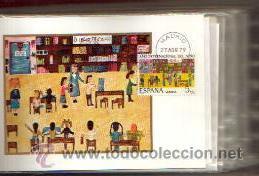 TARJETA AÑO INTERNACIONAL DEL NIÑO AÑO 1979 PRIMER DIA MADRID VER FOTOS QUE NO TE FALTE (Sellos - España - Tarjetas Máximas )