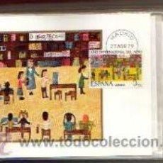 Sellos: TARJETA AÑO INTERNACIONAL DEL NIÑO AÑO 1979 PRIMER DIA MADRID VER FOTOS QUE NO TE FALTE. Lote 50508355
