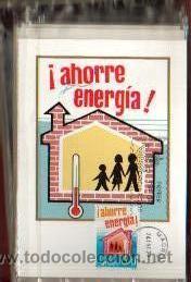 Sellos: TARJETAS AHORRO DE ENERGIA COMPLETA 3 TARJETAS AÑO 1979 PRIMER DIA MADRID VER FOTO QUE NO TE FALTE - Foto 2 - 50508657
