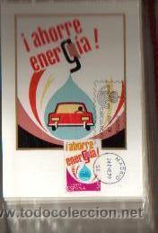 Sellos: TARJETAS AHORRO DE ENERGIA COMPLETA 3 TARJETAS AÑO 1979 PRIMER DIA MADRID VER FOTO QUE NO TE FALTE - Foto 3 - 50508657
