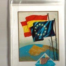 Sellos: TARJETA ADHESION DE ESPAÑA AL CONSEJO DE EUROPA AÑO 1978 PRIMER DIA MADRID VER FOTO QUE NO TE FALTE. Lote 50509256