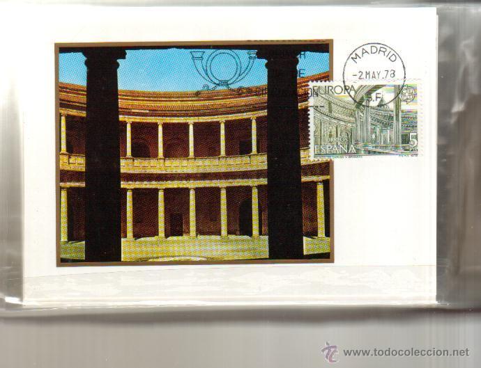 Sellos: TARJETAS EUROPA COMPLETA 2 VALORES AÑO 1978 PRIMER DIA MADRID VER FOTO QUE NO TE FALTE - Foto 2 - 50509296