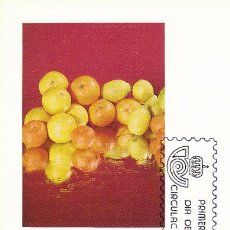 Sellos: EDIFIL 2626, ESPAÑA EXPORTA: AGRIOS, TARJETA MAXIMA DE PRIMER DIA DE 30-9-1981. Lote 53156679