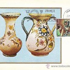 Sellos: EDIFIL 2316, ARTESANIA: JARRON DE TALAVERA (TOLEDO) TARJETA MAXIMA DE PRIMER DIA 6-5-1976. Lote 290071018