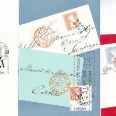 Sellos: EDIFIL 1798/800, DIA DEL SELLO 196, TARJETA MAXIMA DE PRIMER DIA DE 6-5-1967, SERIE COMPLETA. Lote 55777049