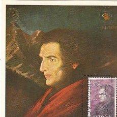Sellos: EDIFIL 1792, JOSÉ DE ACOSTA, TARJETA MAXIMA DE PRIMER DIA DE 6-4-1967. Lote 55777181
