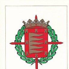 Sellos: EDIFIL 1698, ESCUDO DE VALLADOLID, TARJETA MAXIMA DE PRIMER DIA DE 1966. Lote 188032947