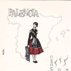 Sellos: TRAJES TIPICOS ESPAÑOLES 1970 TRAJE DE PALENCIA (EDIFIL 1949) EN TARJETA MAXIMA PRIMER DIA DE ALFIL.. Lote 59476544