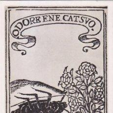 Sellos: LOPE DE VEGA III CENTENARIO DE SU MUERTE 1935 (EDIFIL 690) EN BONITA Y RARA TM MATASELLOS TOLEDO.. Lote 68397925
