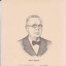 Sellos: BENEFICENCIA HUERFANOS DE CORREOS PEDAGOGOS 1937 MARTI ALPERA (EDIFIL 13) EN BONITA Y RARA TM PD. Lote 68399613