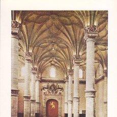 Sellos: LONJA DE ZARAGOZA TURISMO SERIE TURISTICA 1970 (EDIFIL 1986) EN TARJETA MAXIMA PRIMER DIA BARCELONA.. Lote 70544149