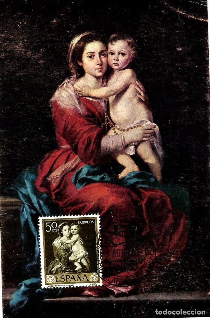 Espaa 1960 edi 1272 murillo la virgen del comprar tarjetas espaa 1960 edi 1272 murillo la virgen del rosario thecheapjerseys Gallery