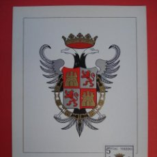 Sellos: TARJETA MAXIMA, SERIE ESCUDOS -TOLEDO - MATASELLOS PRIMER DIA - MADRID 24.ENE.66. R-4310. Lote 71910663