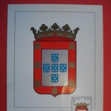 Sellos: TARJETA MAXIMA, SERIE ESCUDOS - CEUTA - MATASELLOS PRIMER DIA - MADRID 22.JUL.66. R-4316. Lote 71911495