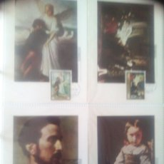 Sellos: 8 TARJETAS MÁXIMAS 1974 EDUARDO ROSALES MATASELLOS PRIMER DÍA. Lote 73924831